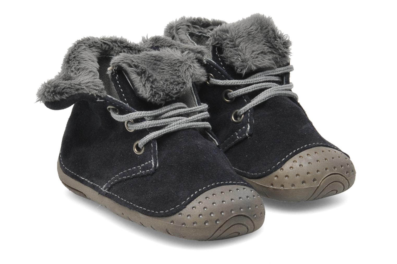 Pantoffels Babybotte ZOUK Blauw detail