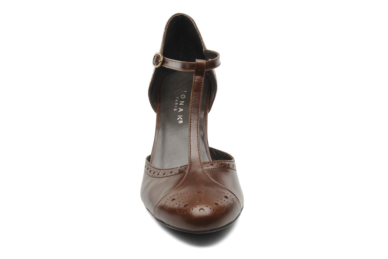 Escarpins Jonak Ebloadine Marron vue portées chaussures