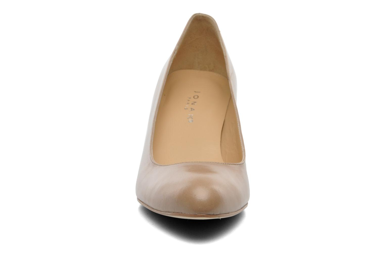 High heels Jonak Issine Beige model view