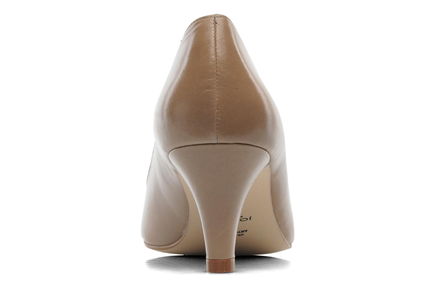 High heels Jonak Issine Beige view from the right