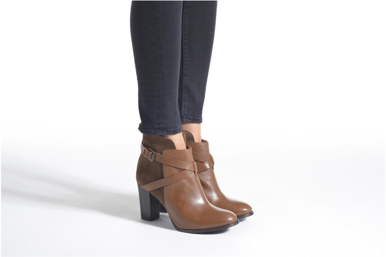 Bottines et boots Jonak Drakos Bleu vue bas / vue portée sac