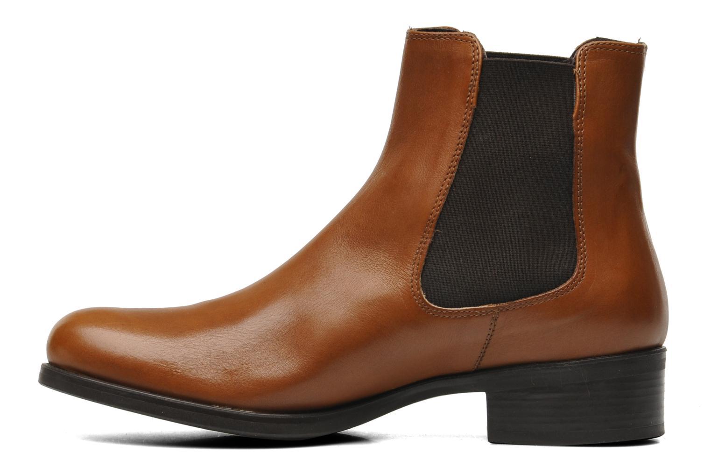 Bottines et boots Jonak Sabine Marron vue face