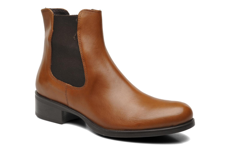 Bottines et boots Jonak Sabine Marron vue détail/paire