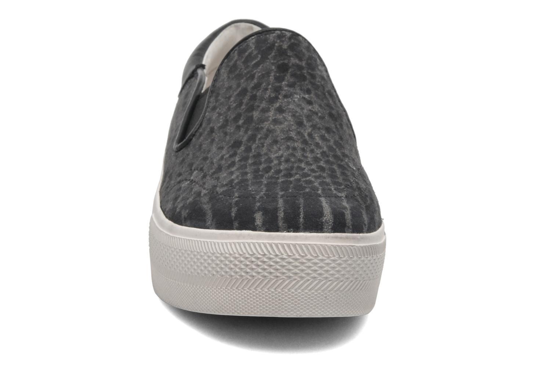 Baskets Ash Jam Gris vue portées chaussures
