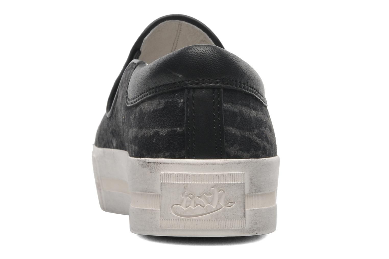Baskets Ash Jam Gris vue droite