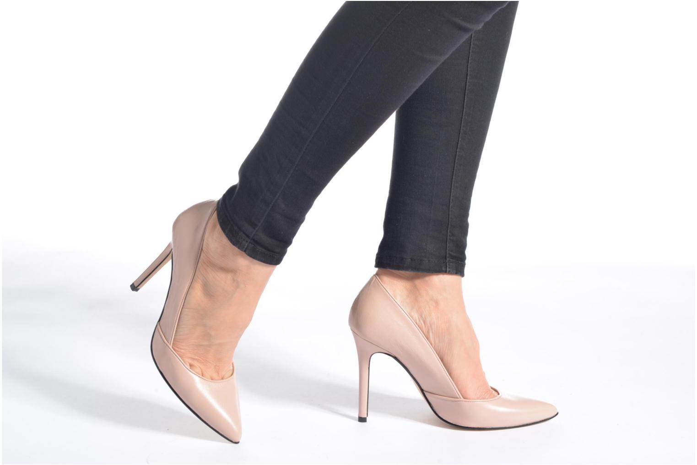 Zapatos de tacón Georgia Rose Fillotte Rosa vista de abajo