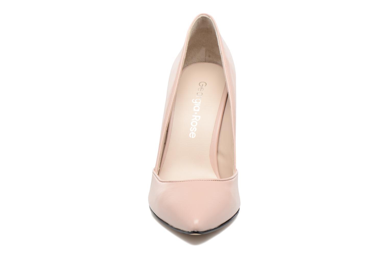 Escarpins Georgia Rose Fillotte Rose vue portées chaussures