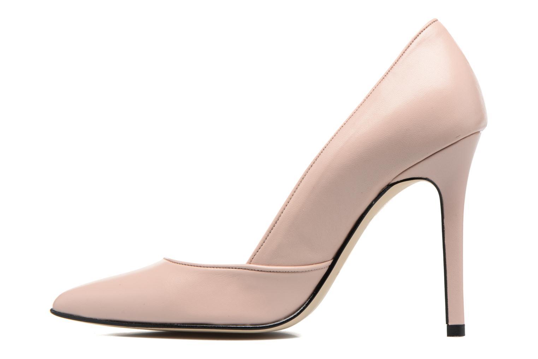 Zapatos de tacón Georgia Rose Fillotte Rosa vista de frente