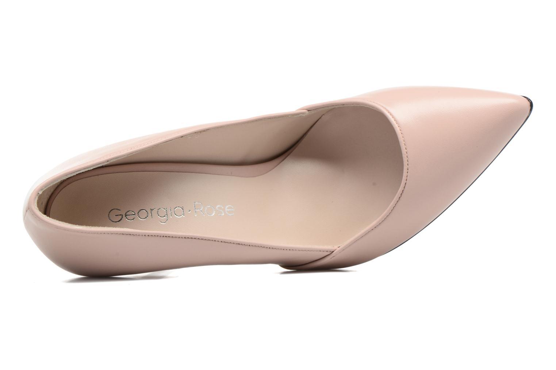 Zapatos de tacón Georgia Rose Fillotte Rosa vista lateral izquierda