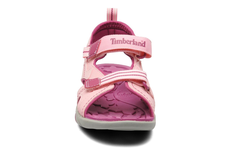 Sandales et nu-pieds Timberland Dune Buggy 2 Strap Rose vue portées chaussures