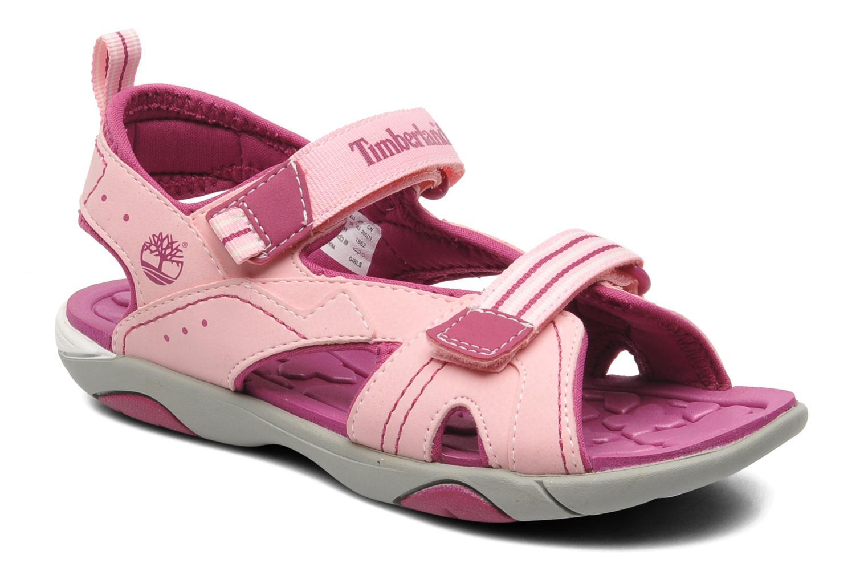 Sandales et nu-pieds Timberland Dune Buggy 2 Strap Rose vue détail/paire