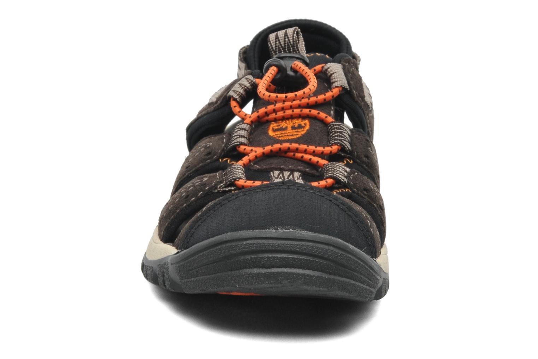 Sneaker Timberland BELKNAP SNDL EK braun schuhe getragen
