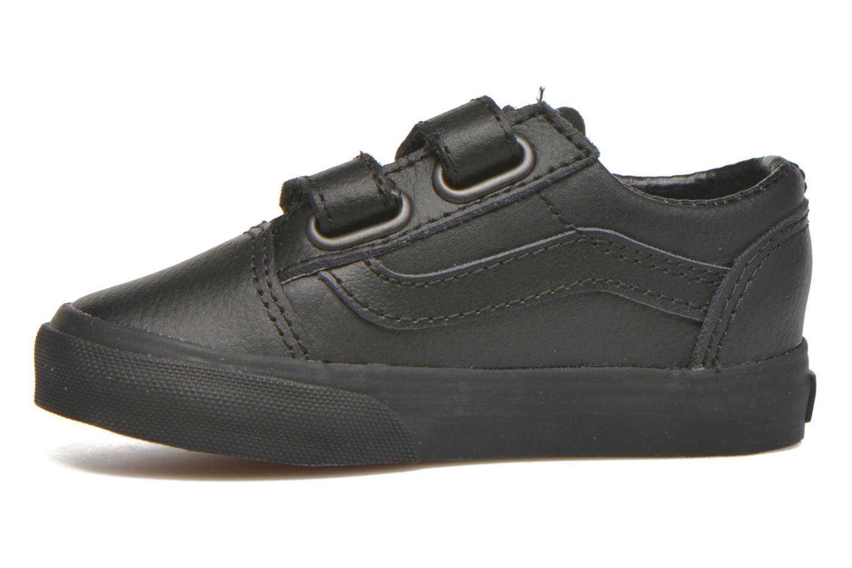 Sneaker Vans Old Skool V BB schwarz ansicht von vorne
