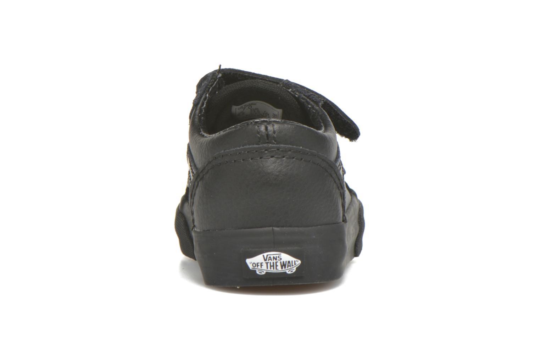Sneaker Vans Old Skool V BB schwarz ansicht von rechts