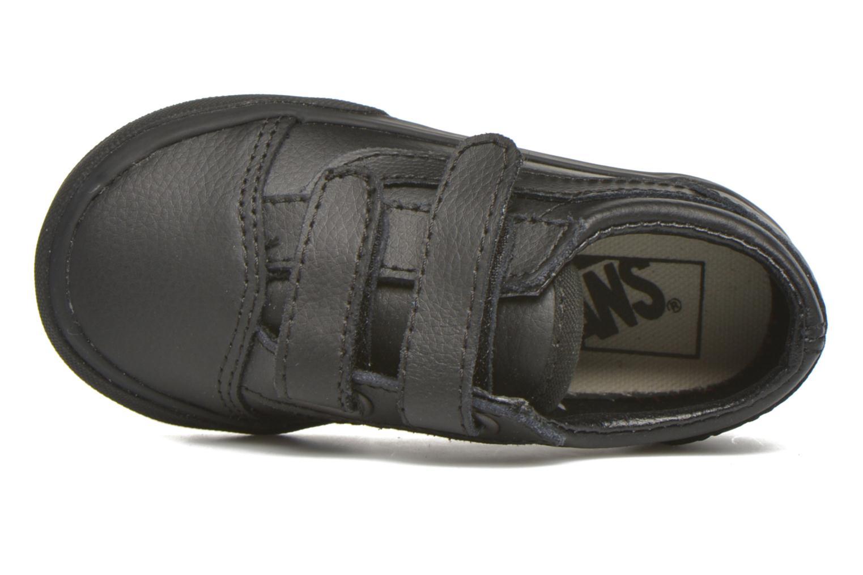 Sneaker Vans Old Skool V BB schwarz ansicht von links