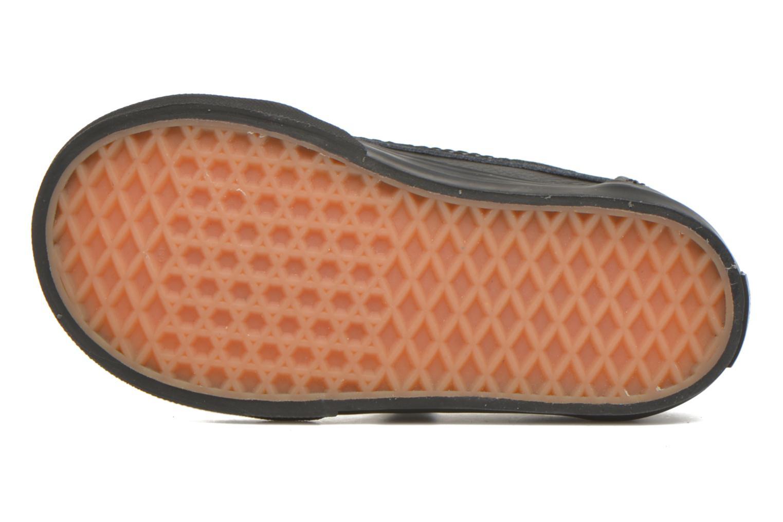 Sneaker Vans Old Skool V BB schwarz ansicht von oben
