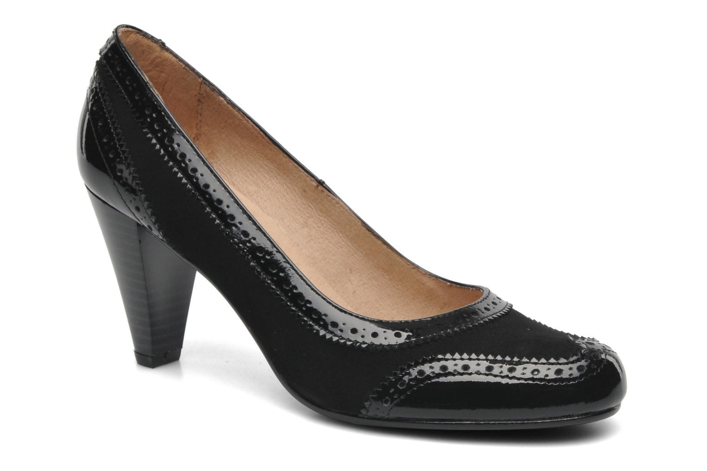 High heels Georgia Rose Zahida Black detailed view/ Pair view