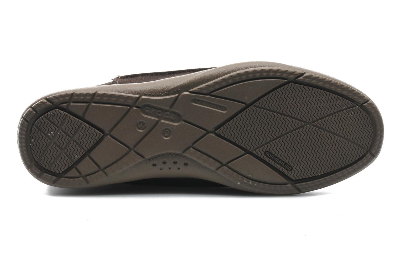 Boots Crocs Adela Suede Boot W Brun bild från ovan