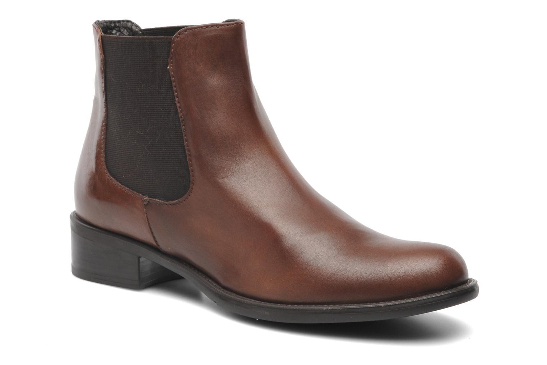 Bottines et boots Elizabeth Stuart Hezzo 391 Marron vue détail/paire