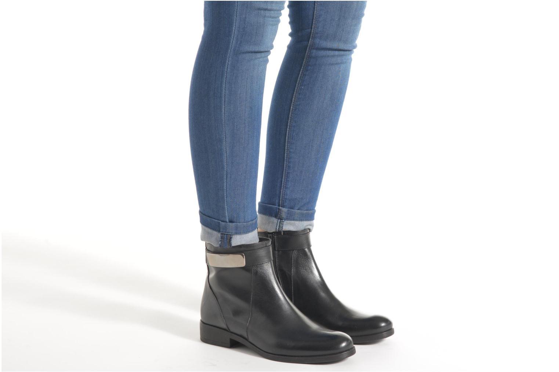 Bottines et boots Elizabeth Stuart Cassey 391 Marron vue bas / vue portée sac