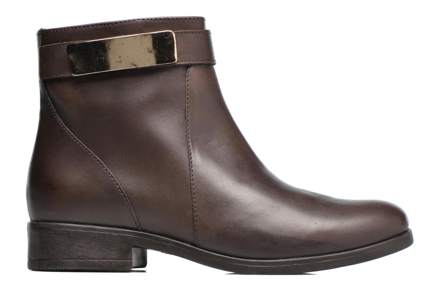 Ankle boots Elizabeth Stuart Cassey 391 Brown back view