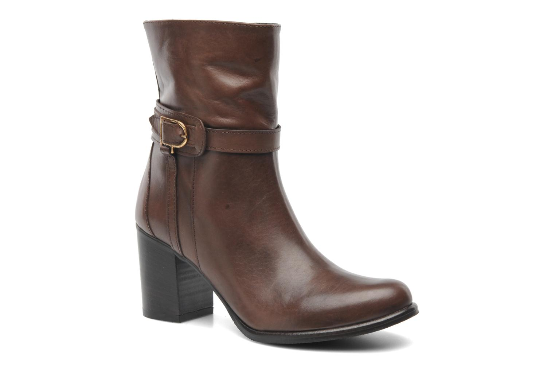 Bottines et boots Elizabeth Stuart Sarah 391 Marron vue détail/paire