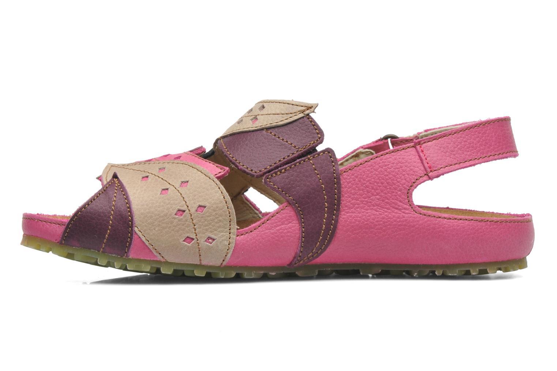 Sandals El Naturalista Ikebana 133 Pink front view