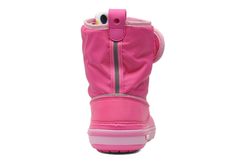 Stiefel Crocs Crocband II.5 Gust Boot Kids rosa ansicht von rechts