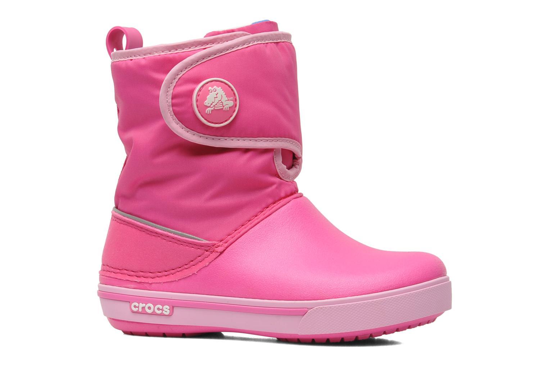 Stiefel Crocs Crocband II.5 Gust Boot Kids rosa ansicht von hinten