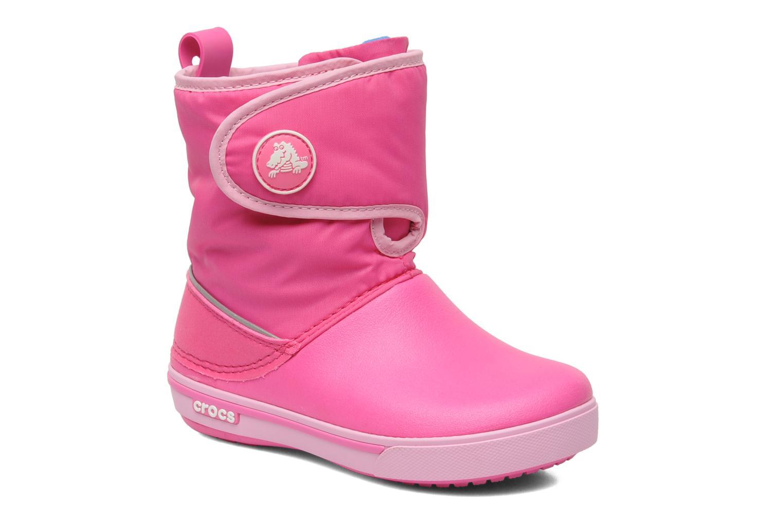 Stiefel Crocs Crocband II.5 Gust Boot Kids rosa detaillierte ansicht/modell