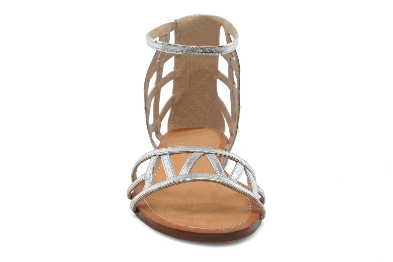Sandales et nu-pieds Jonak Jessy Argent vue portées chaussures