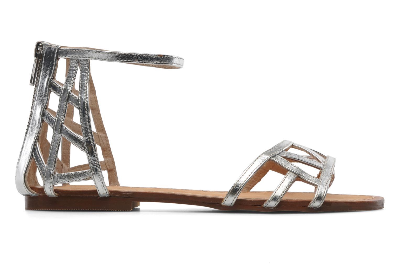 Sandales et nu-pieds Jonak Jessy Argent vue derrière