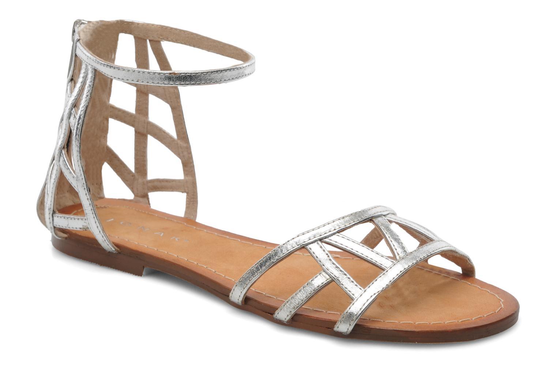 Sandales et nu-pieds Jonak Jessy Argent vue détail/paire