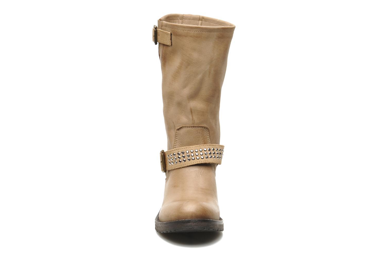 Bottines et boots Sweet Lemon Edoux Beige vue portées chaussures