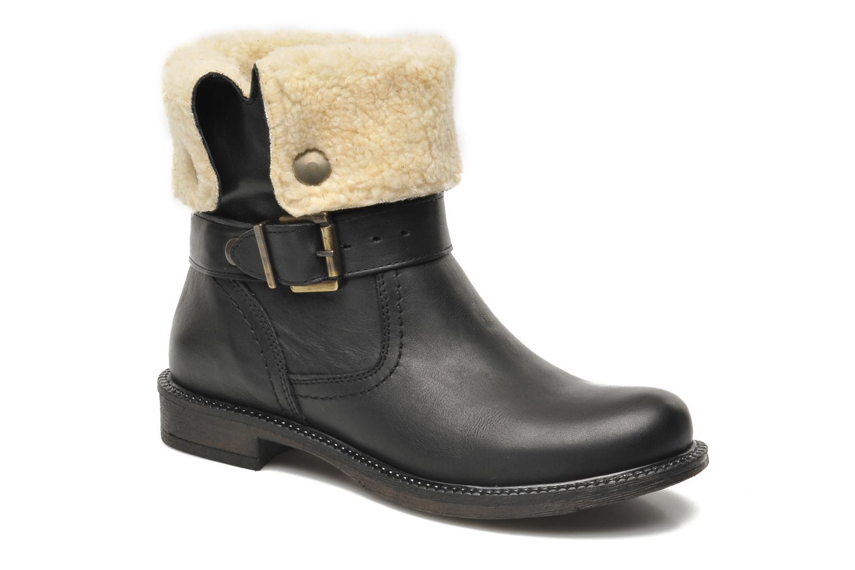 Boots en enkellaarsjes Sweet Lemon Yboo Zwart detail