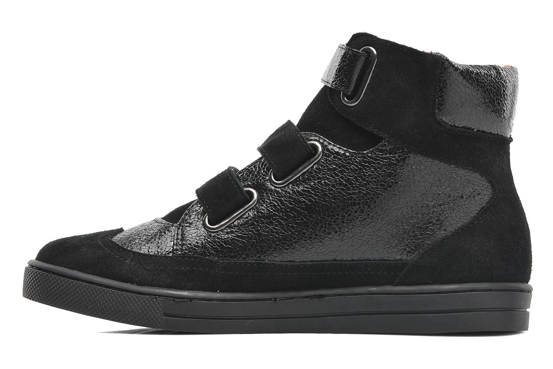 Sneaker Mellow Yellow Raffy schwarz ansicht von vorne