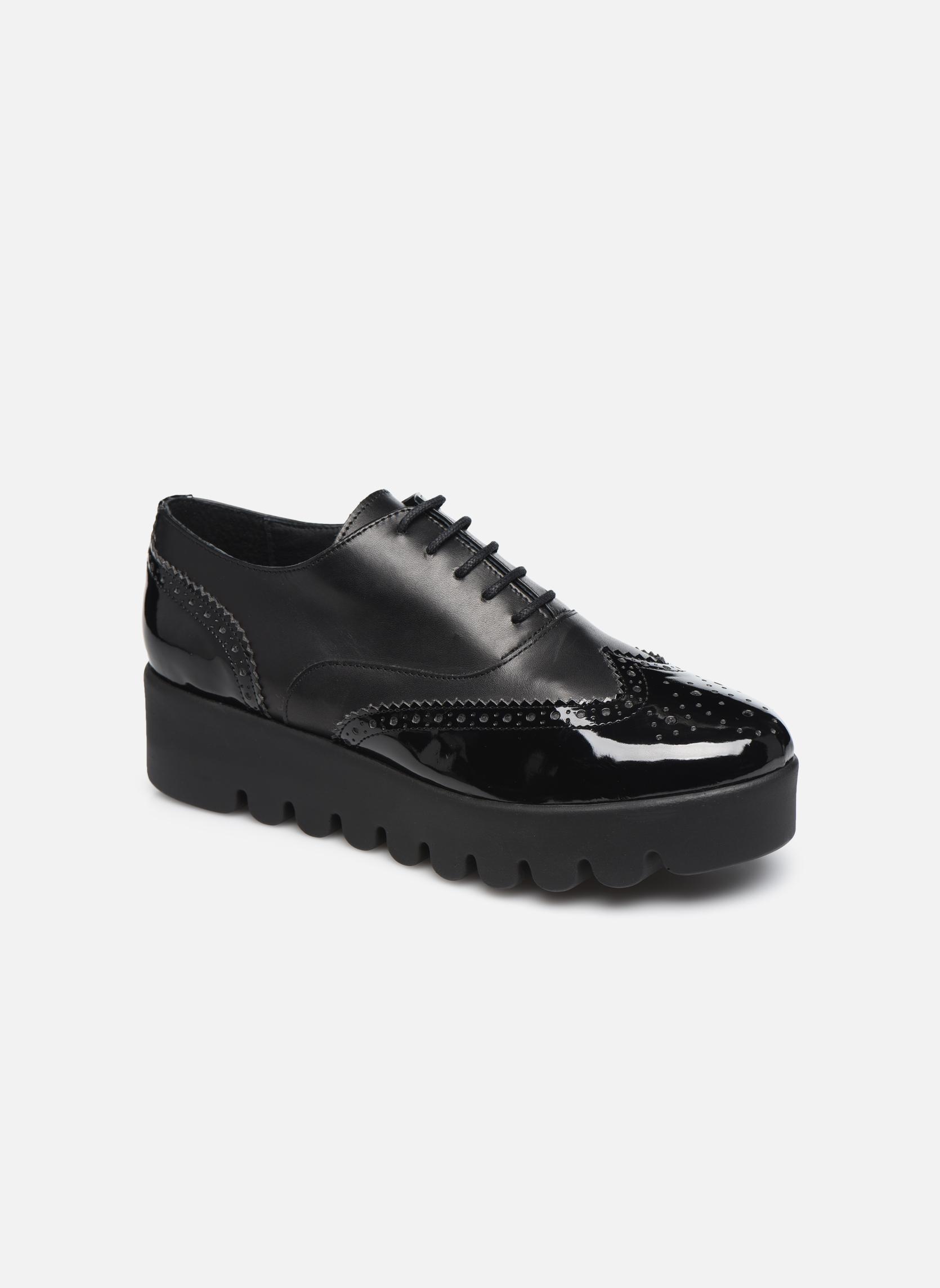Chaussures à lacets Anaki Richard Noir vue détail/paire