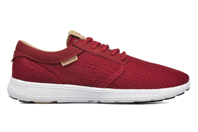 Sneaker Supra Hammer Run rot ansicht von hinten
