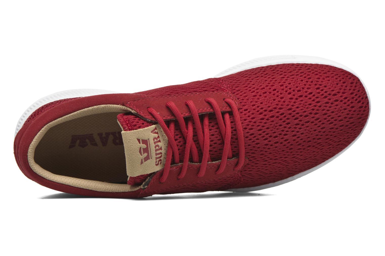 Sneaker Supra Hammer Run rot ansicht von links