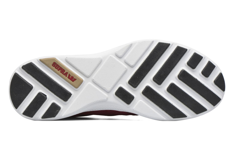 Sneakers Supra Hammer Run Rød se foroven