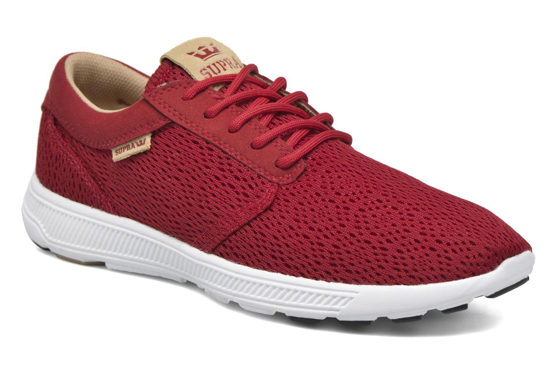 Sneakers Supra Hammer Run Rød detaljeret billede af skoene