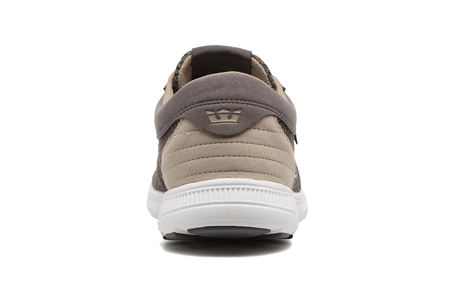 Baskets Supra Hammer Run Marron vue droite