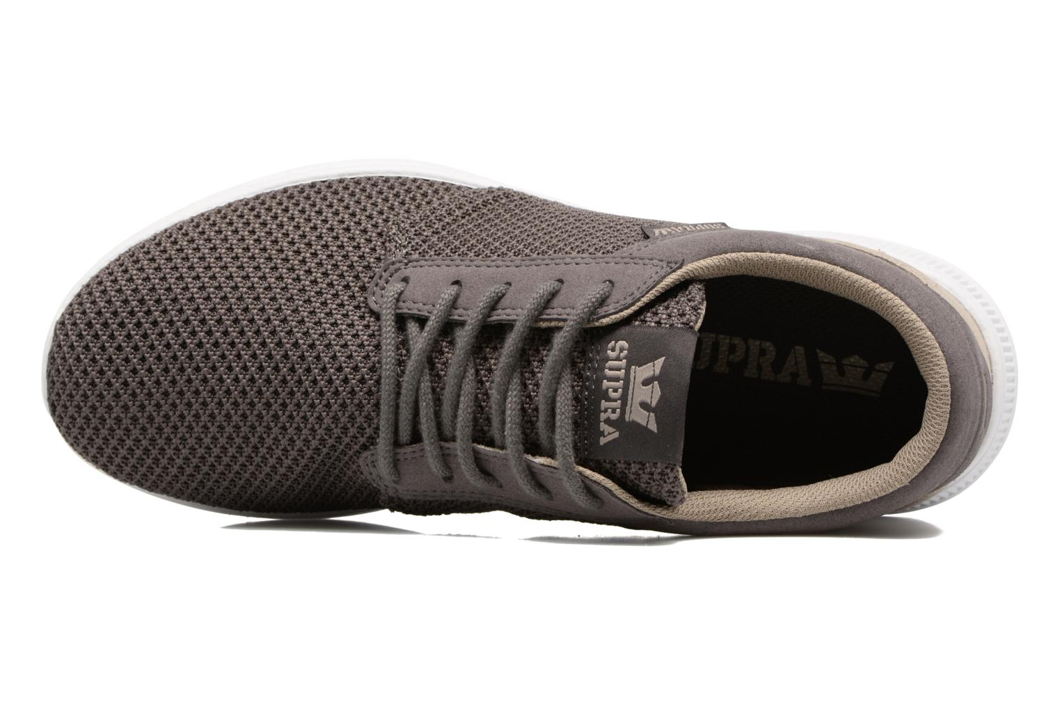 Baskets Supra Hammer Run Marron vue gauche