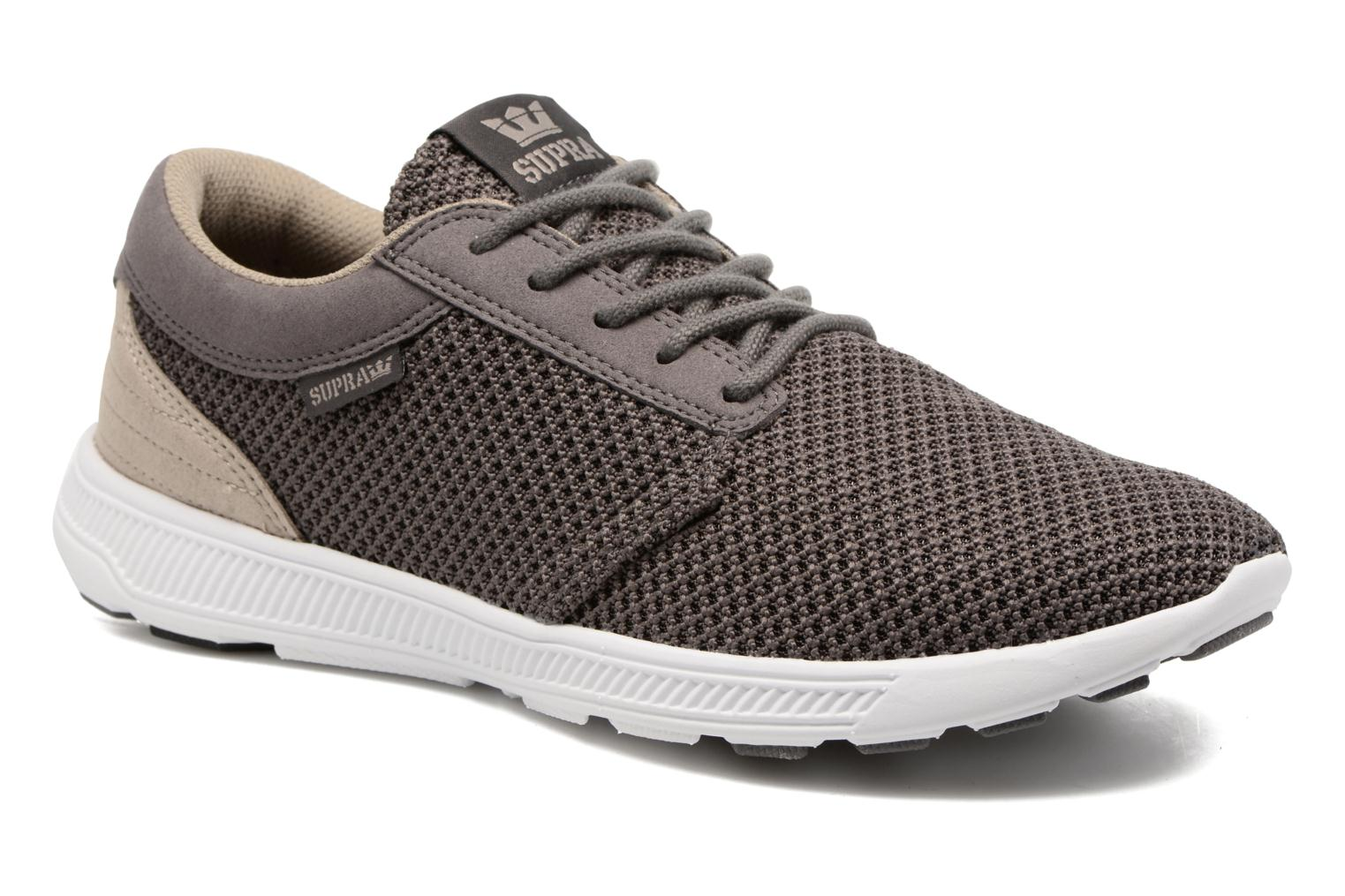 Baskets Supra Hammer Run Marron vue détail/paire
