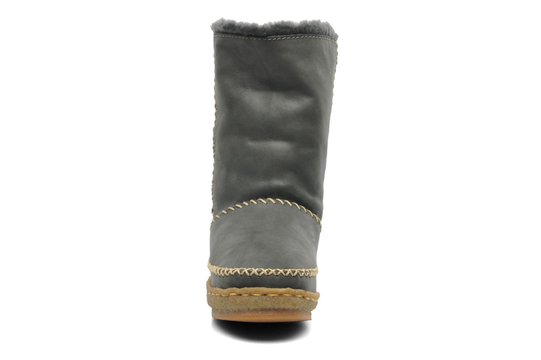 Naira Grey leather