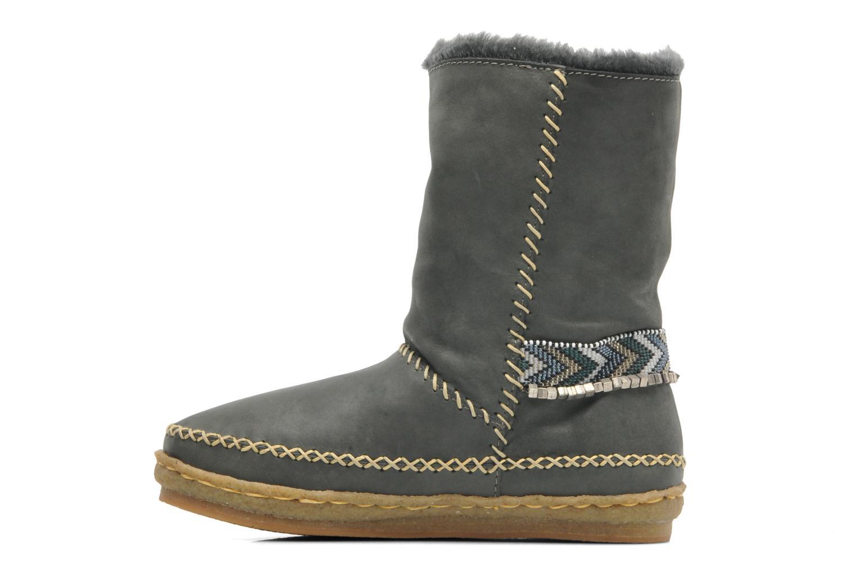 Boots en enkellaarsjes Laidback London Naira Grijs voorkant