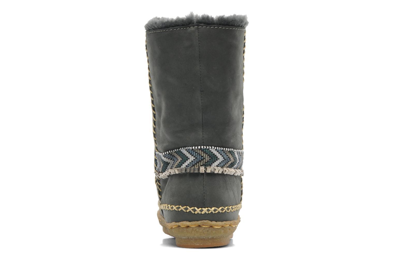 Stiefeletten & Boots Laidback London Naira grau ansicht von rechts