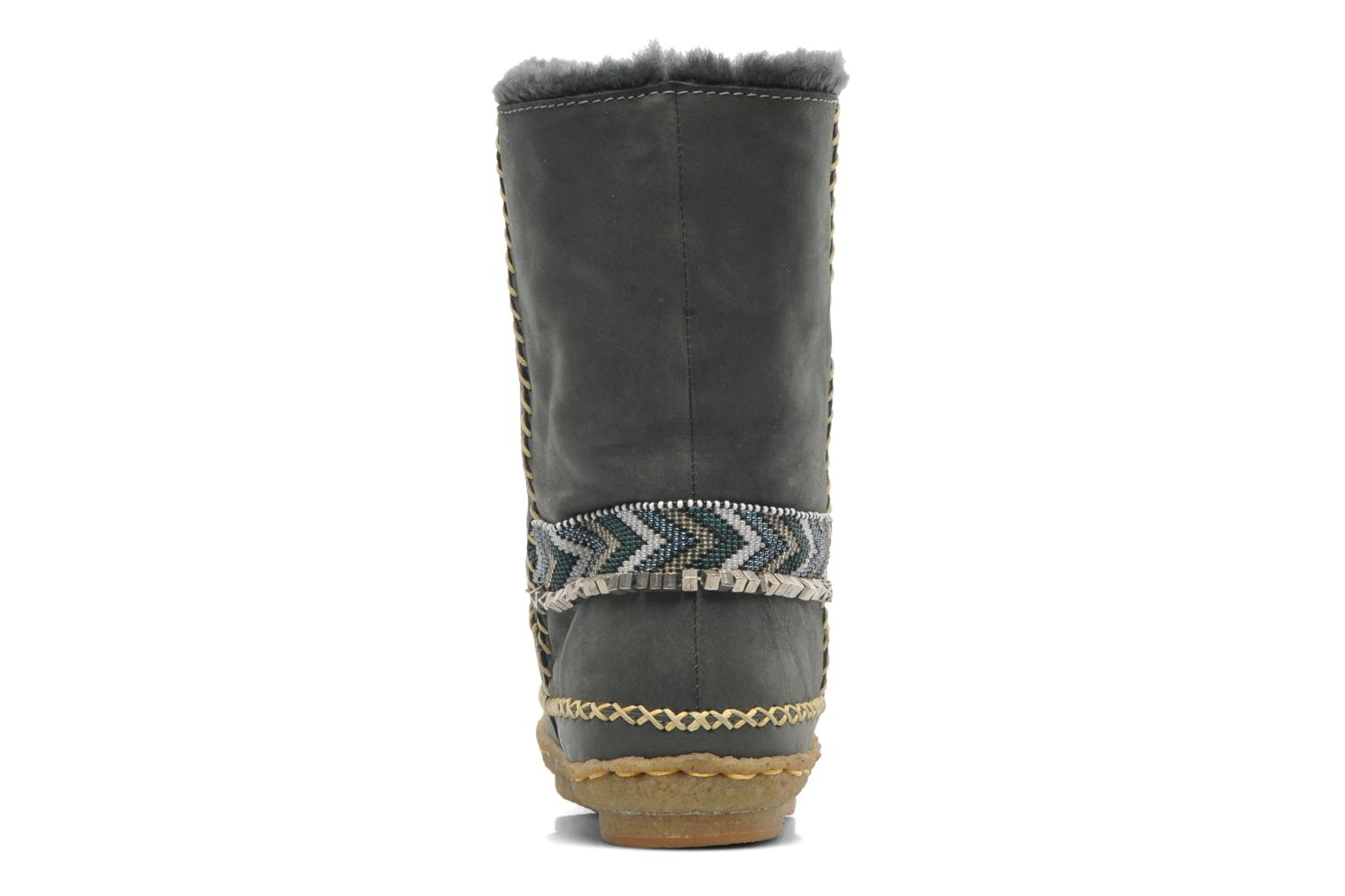 Ankle boots Laidback London Naira Grey view from the right