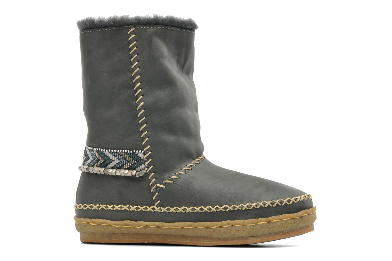 Bottines et boots Laidback London Naira Gris vue derrière