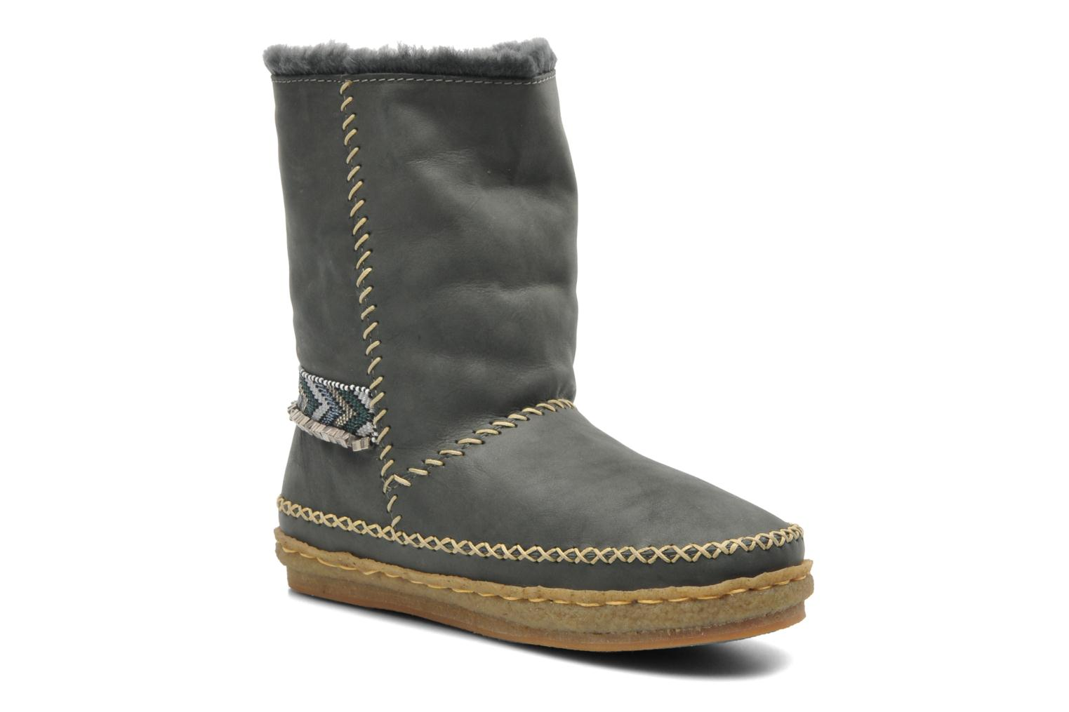 Bottines et boots Laidback London Naira Gris vue détail/paire